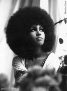Marsha Hunt is an American singer, novelist, actress and model. Marsha Hunt was on the cover of British high fashion magazine Queen, the first black model to appear on their cover. Marsha Hunt is the mother of Karis Jagger', Mick Jagger daughter.